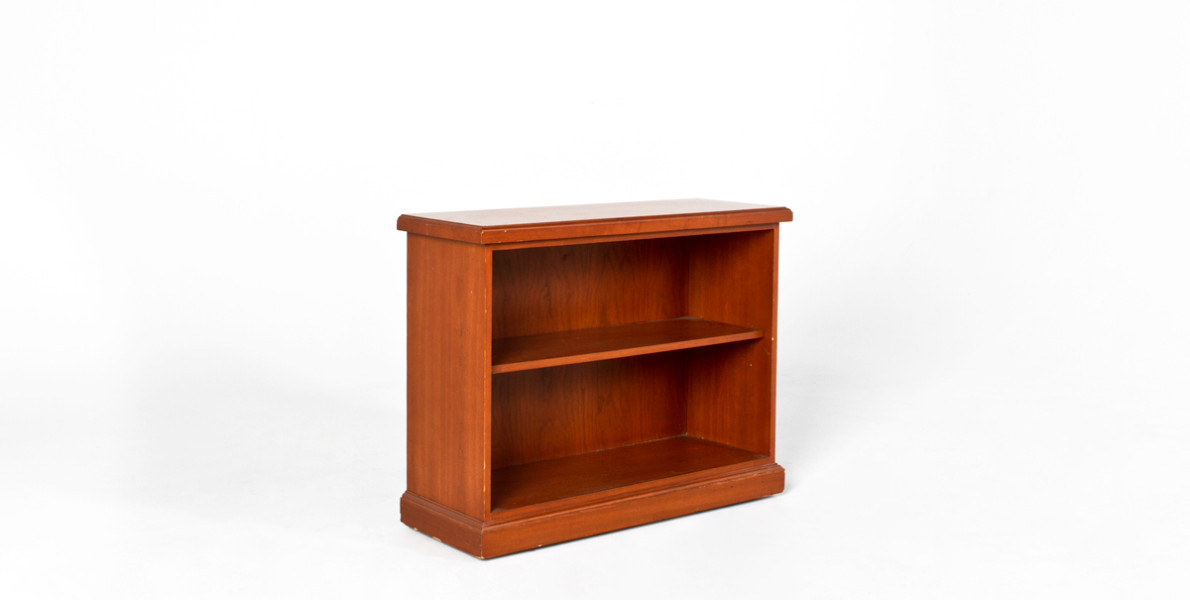 "38""w x 30""h Honey Cherry Bookcase BKC003608"