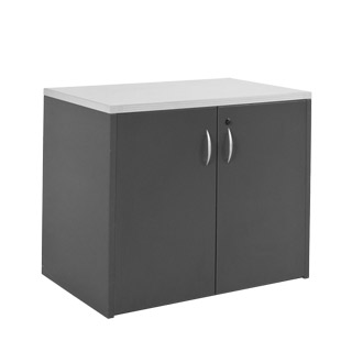 "36""w x 22""d Dark Grey Storage Cabinet CAB011994"