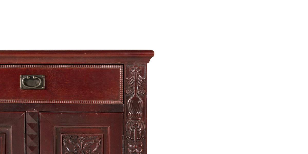 """55""""w x 15.5""""d Mahogany Cabinet CAB013219"""