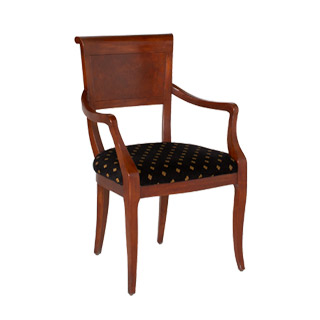 Burl Wooden Guest Chair CHR006065