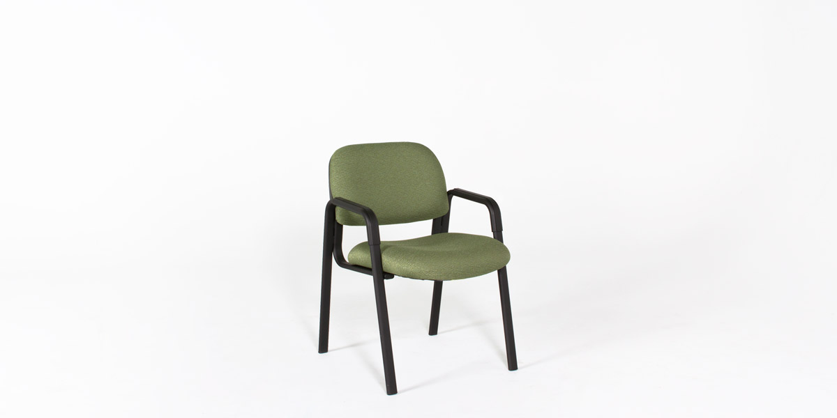 Green Fabric Guest Chair CHR012714