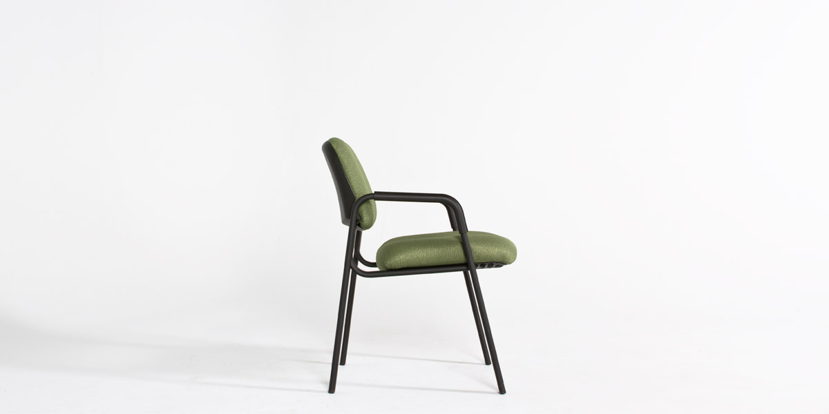 Green Fabric Guest Chair CHR012714