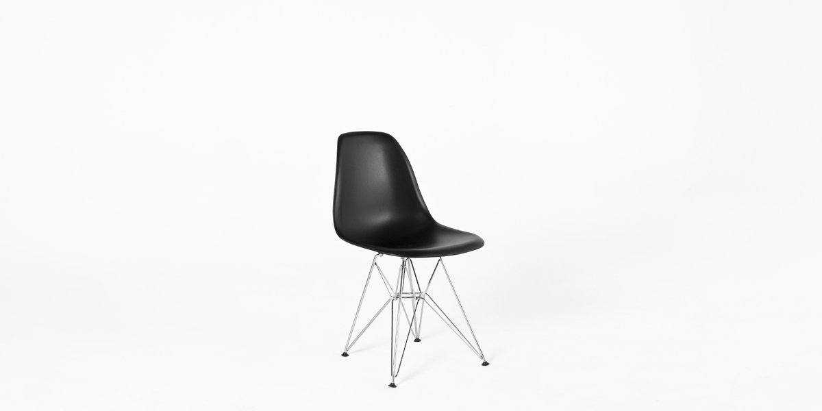Black Poly Shell Side Chair CHR013177
