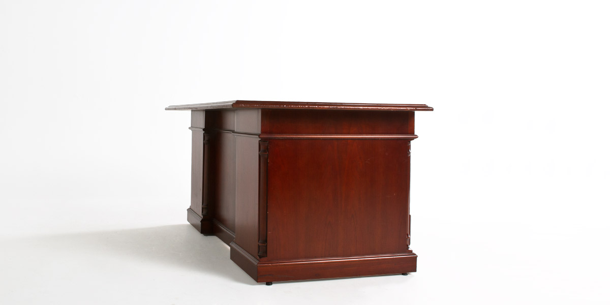 "72""w x 36""d Medium Cherry Desk DSK000767"