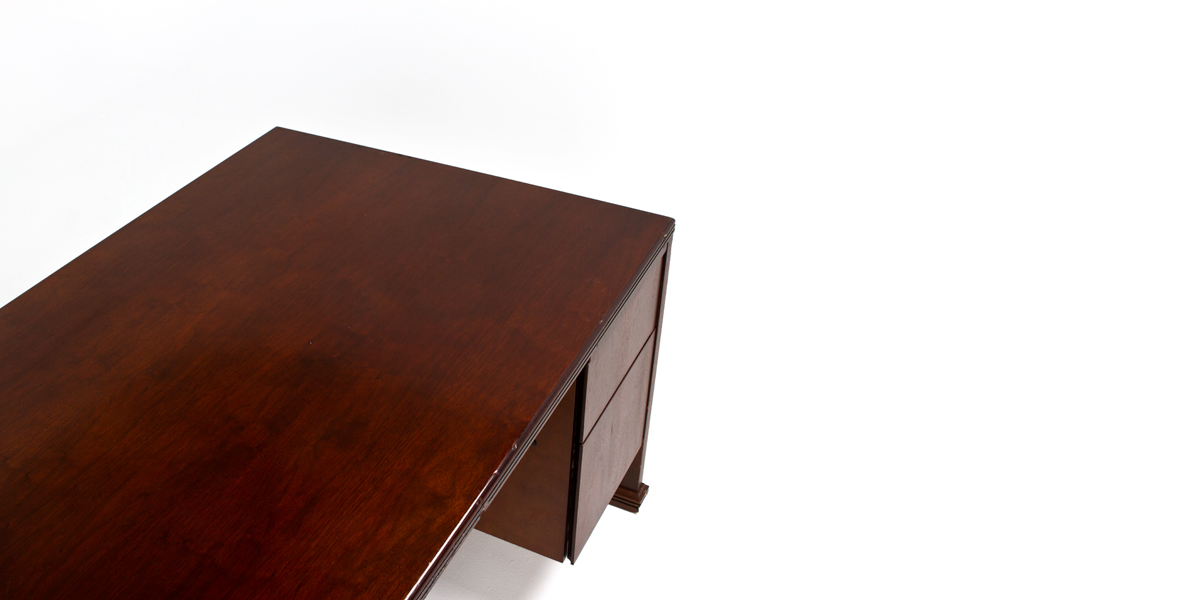 "72""w x 36""d Walnut Desk DSK004830"