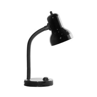 "16.7""h Gloss Black Task Lamp LGT010956"