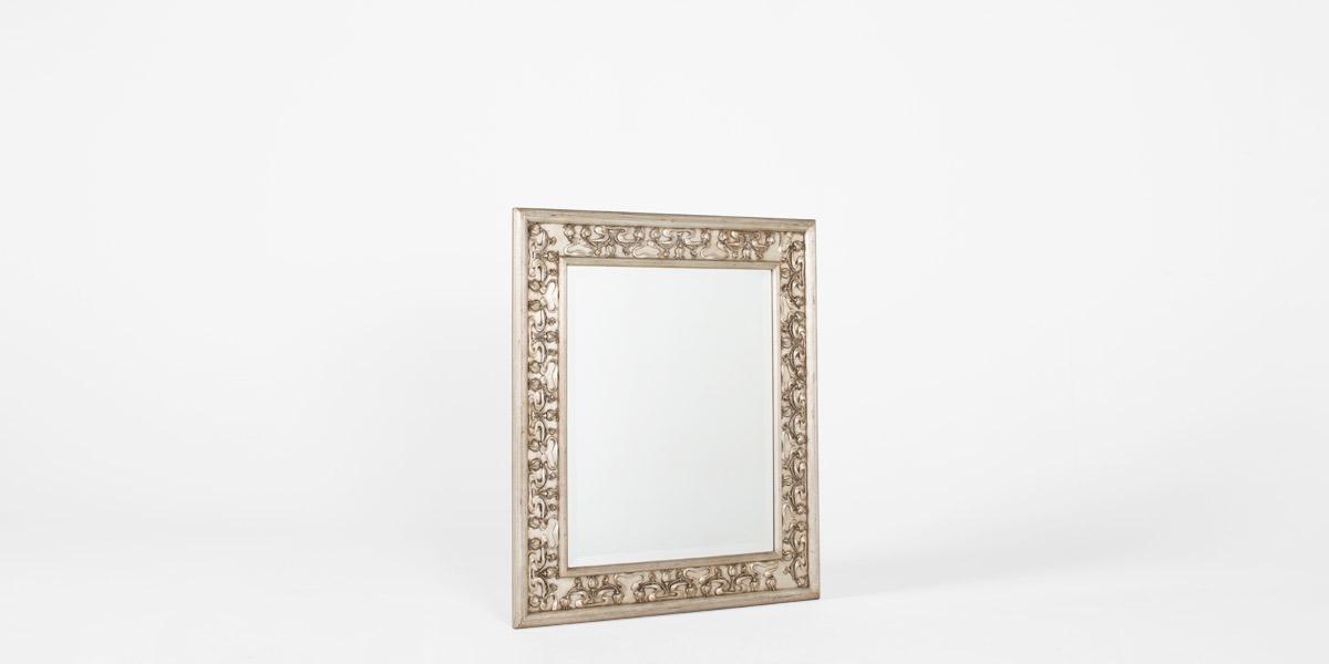 """35""""w x 41""""h Silver Leaf Mirror MIR001773"""