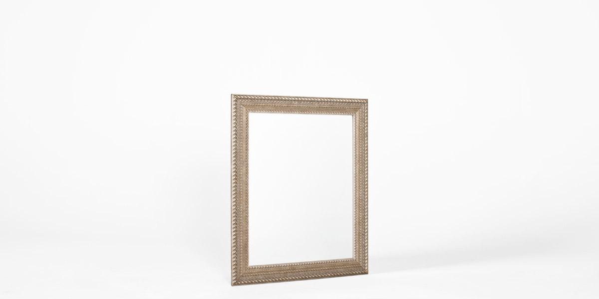 "28""w x 35""h Silver Mirror MIR009693"