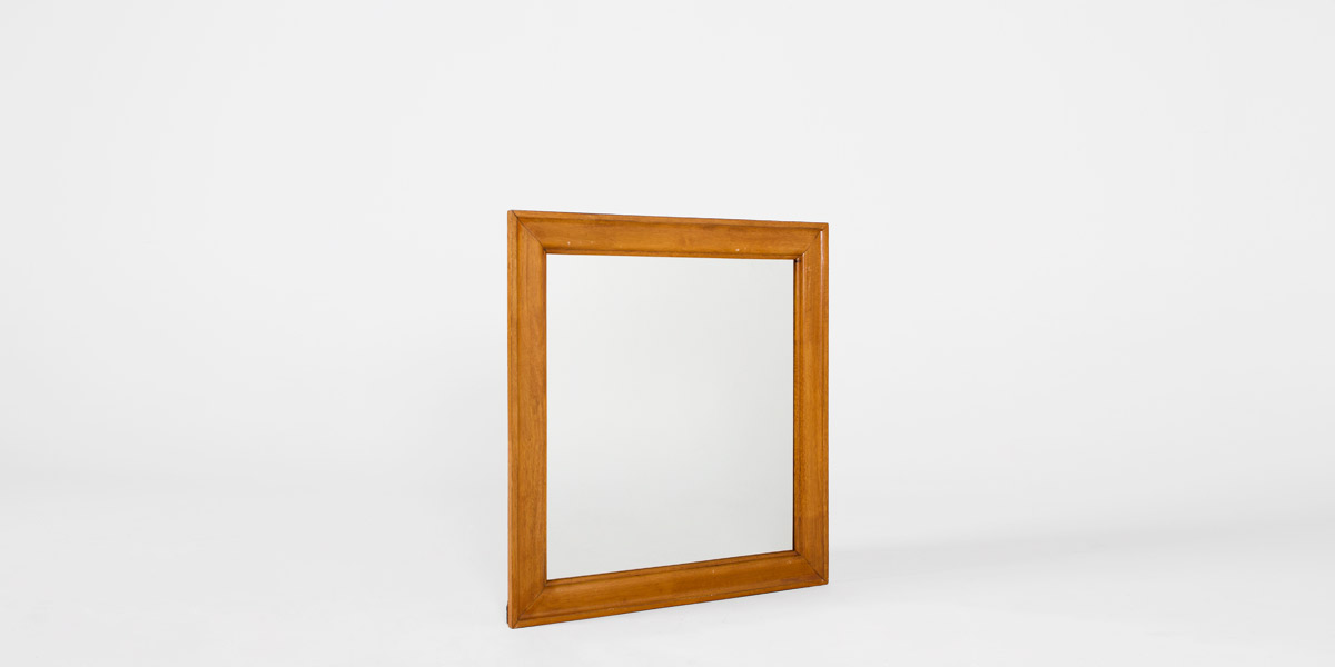 "34.25""w x 36""h Medium Oak Dresser Mirror MIR011697"