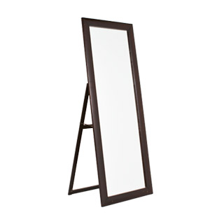 "29.75""w x 77""h Cappuccino Full Length Mirror MIR012406"