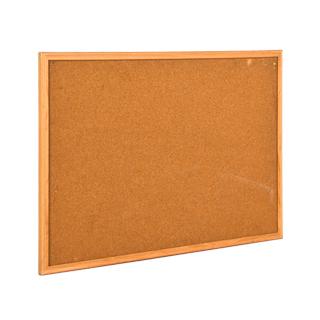 """36""""w x 24""""h Natural Wood Wall Bulletin Board MIS010701"""