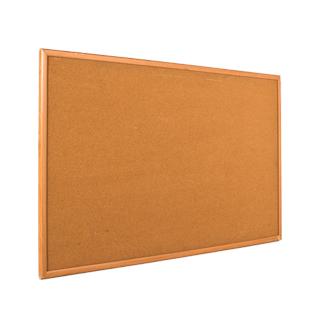 """60""""w x 36""""h Natural Wood Wall Bulletin Board MIS012278"""