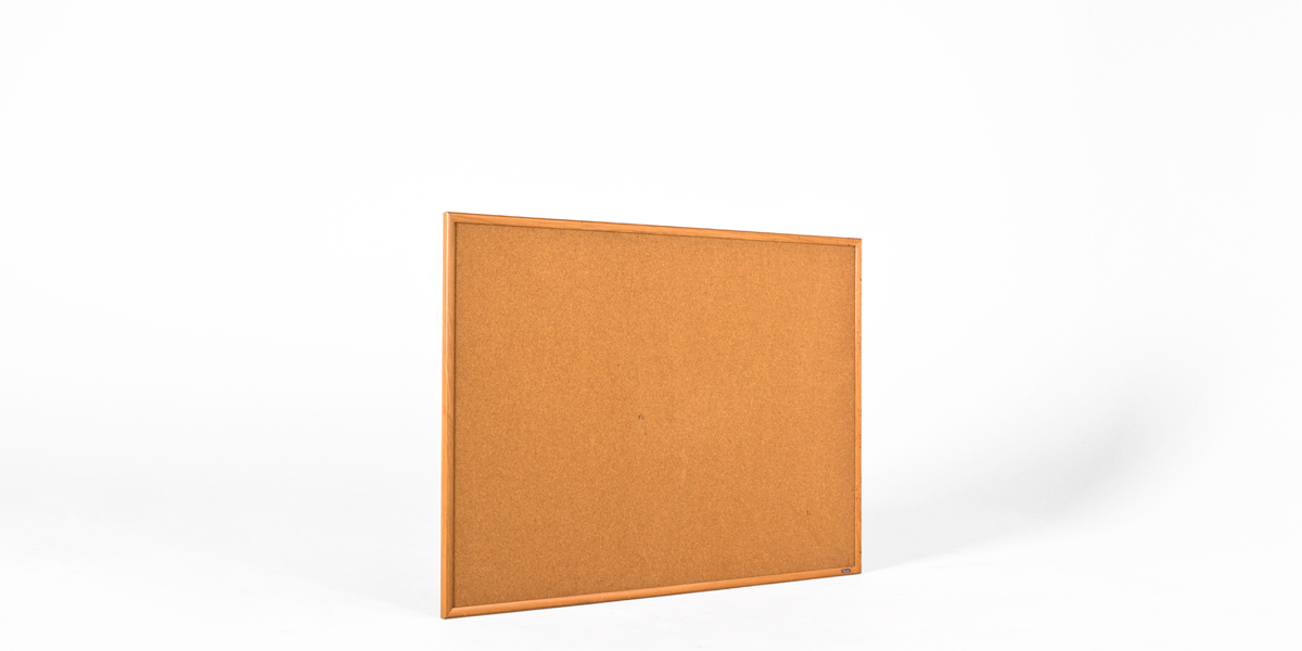 """48""""w x 36""""h Natural Wood Wall Bulletin Board MIS012418"""