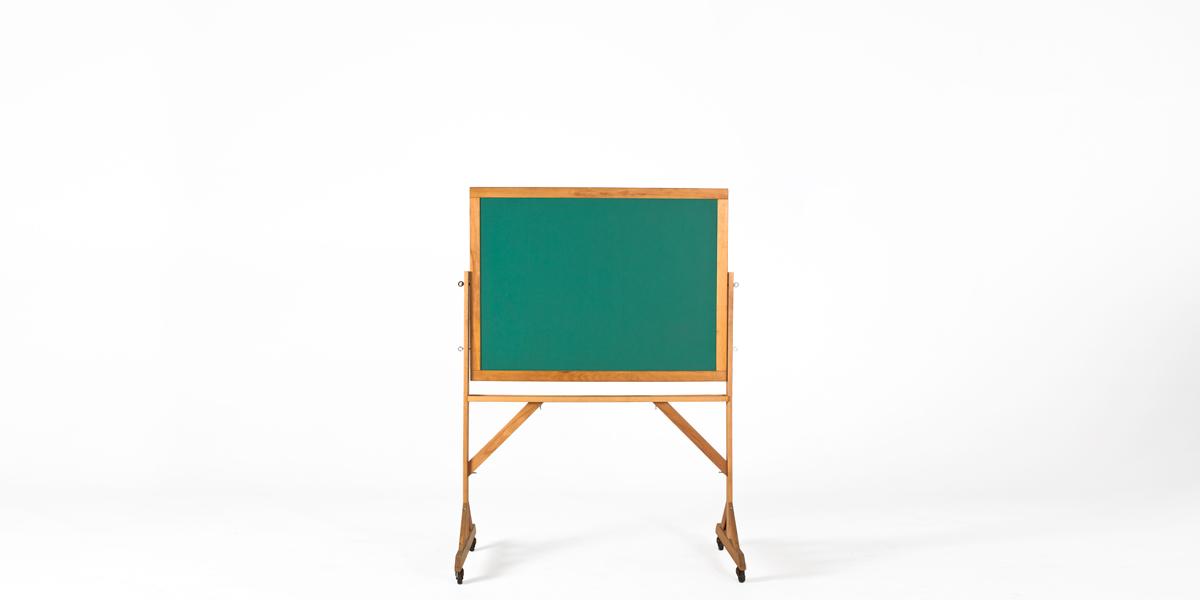 """50.25""""w x 71.25""""h Slate Green Blackboard MIS012578"""