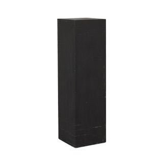 """12""""w x 42""""h Matte Black Pedestal PED005720"""