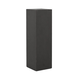 "12""w x 38""h Dark Grey Laminate Pedestal PED007999"