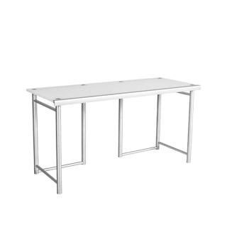 "60""w x 24""d Frosted Plexiglas Table Desk TBL008469"