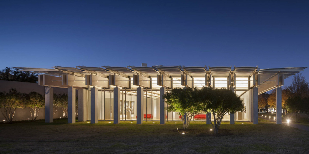 Kimbell Art Museum Piano Pavilion Arenson Office