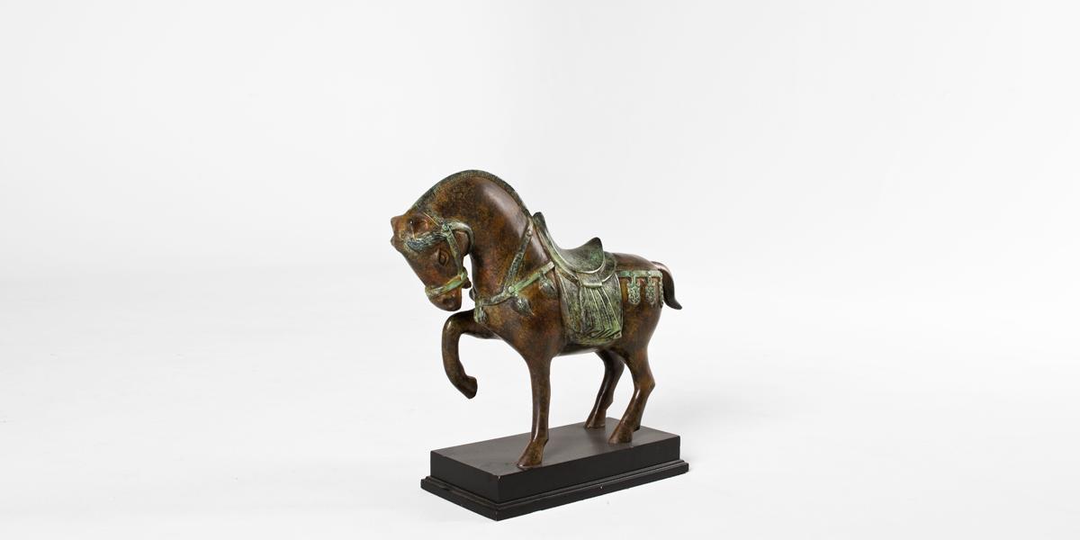 """18""""h Bronze Statue ACC007772"""