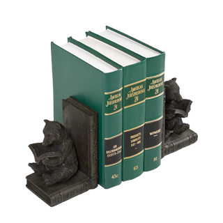 "6.5""h Bronze Bookend ACC011391"