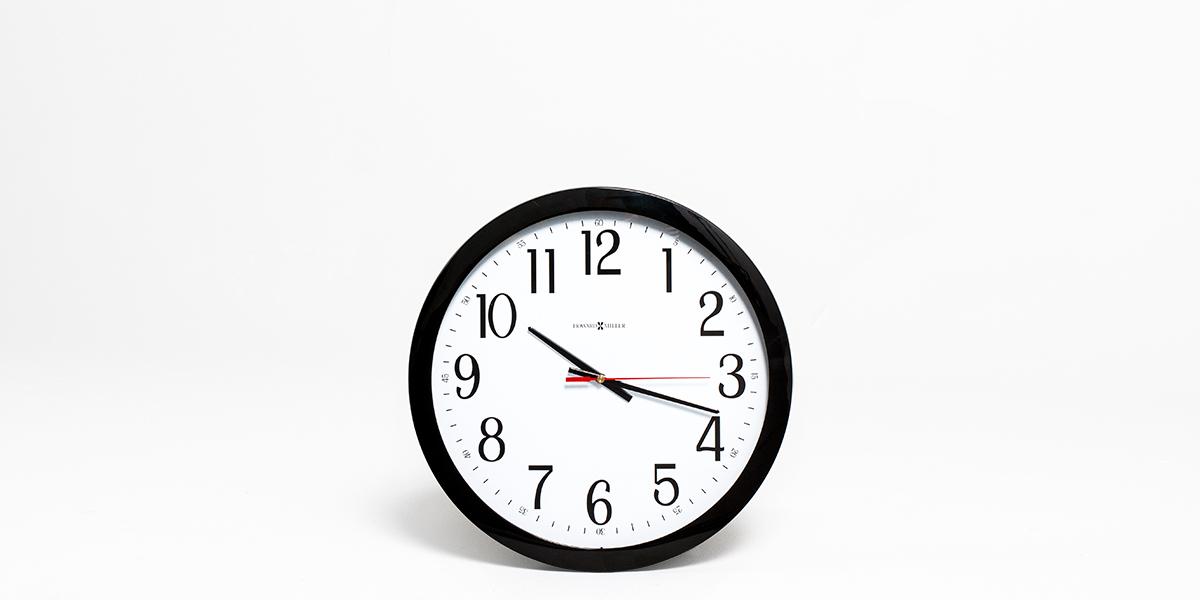 """16""""dia Black Clock ACC012981"""