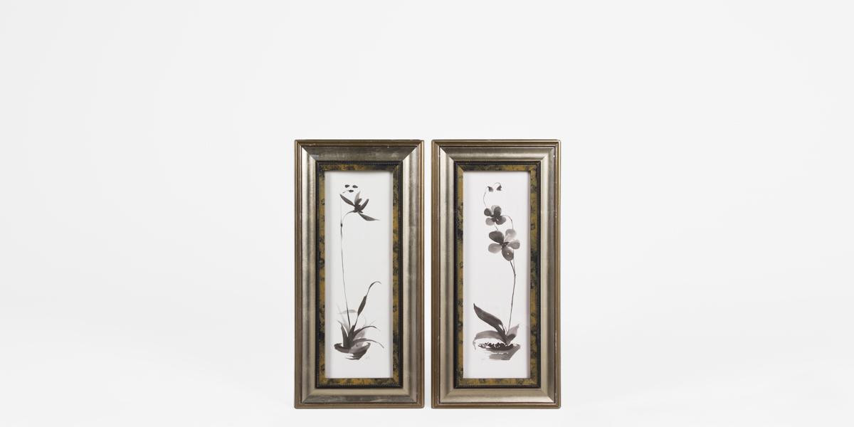 "15""w x 31""h Floral Art ART001869"