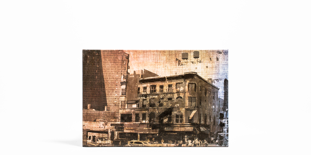 "30""w x 20""h Cityscape Art ART012480"