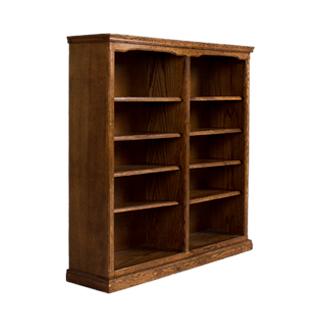 "48""w x 48""h Medium Oak Bookcase BKC000240"