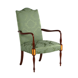 Walnut Sheraton Guest Chair CHR000899