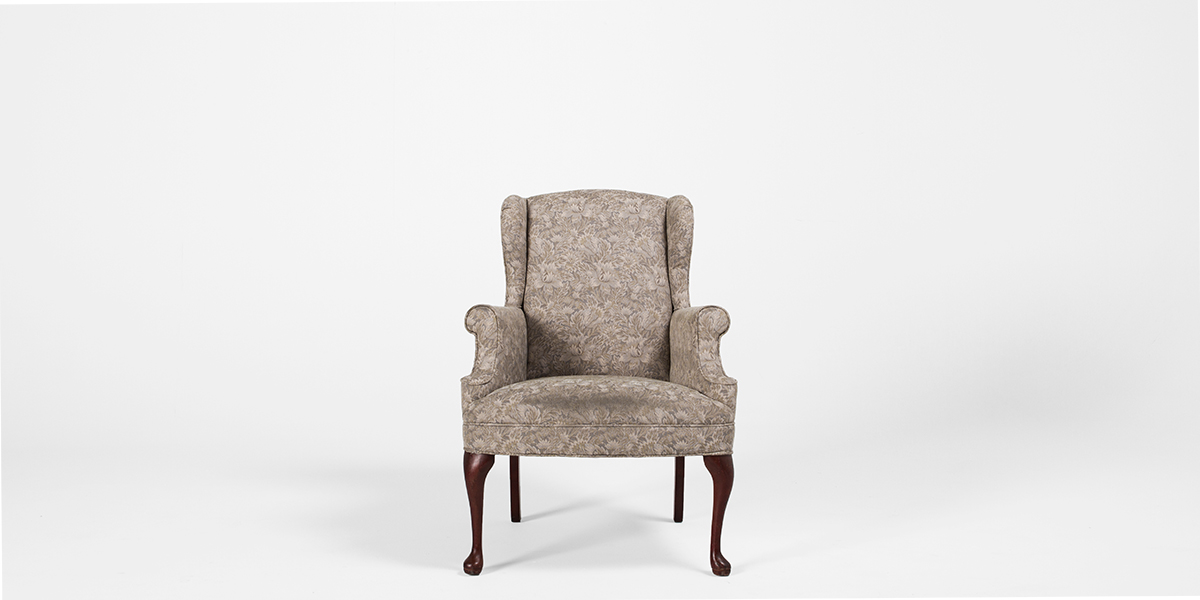 Beige Wing Back Club Chair Chr000901 Arenson Office