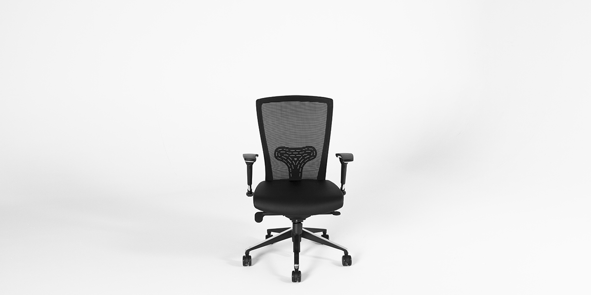 Black Mesh Swivel Task Chair CHR013236