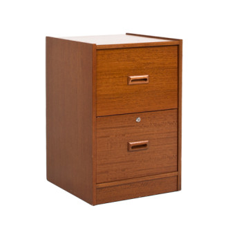 "19.25""w x 19.5""d Medium Oak Vertical File FIL011856"