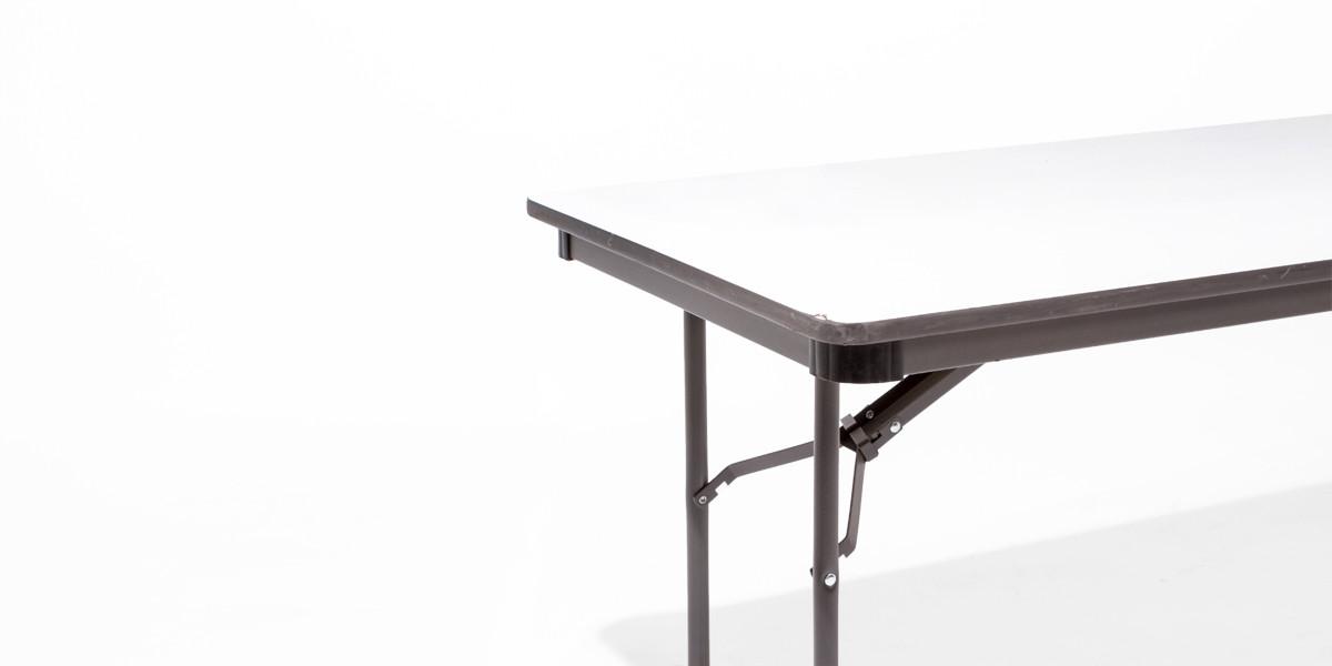 72″w x 30″d Grey Folding Table TBL004034
