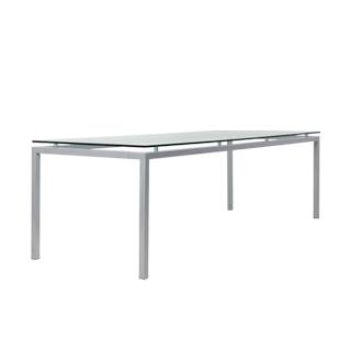 "98.5""w x 35.5""d Glass Table TBL012663"