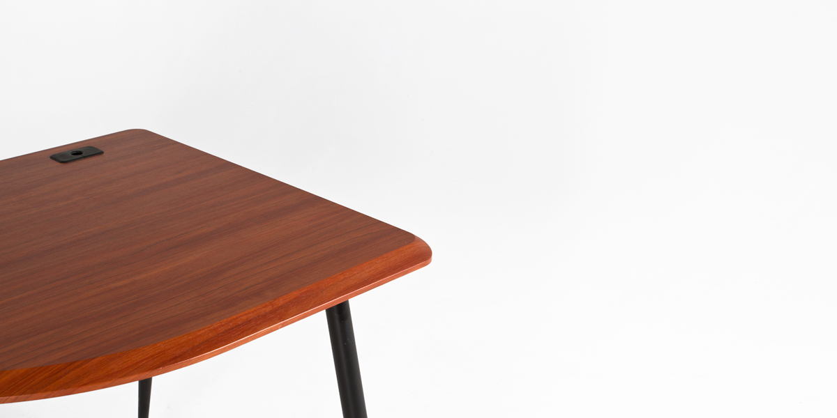 "64.5""w x 31""d Cherry Work Table TBL012923"