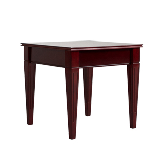 "21.5""w x 21.5""d Mahogany End Table TBL013190"