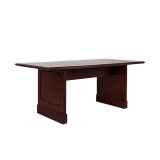 "72""w x 36""d Mahogany Conference Table TBL013220"