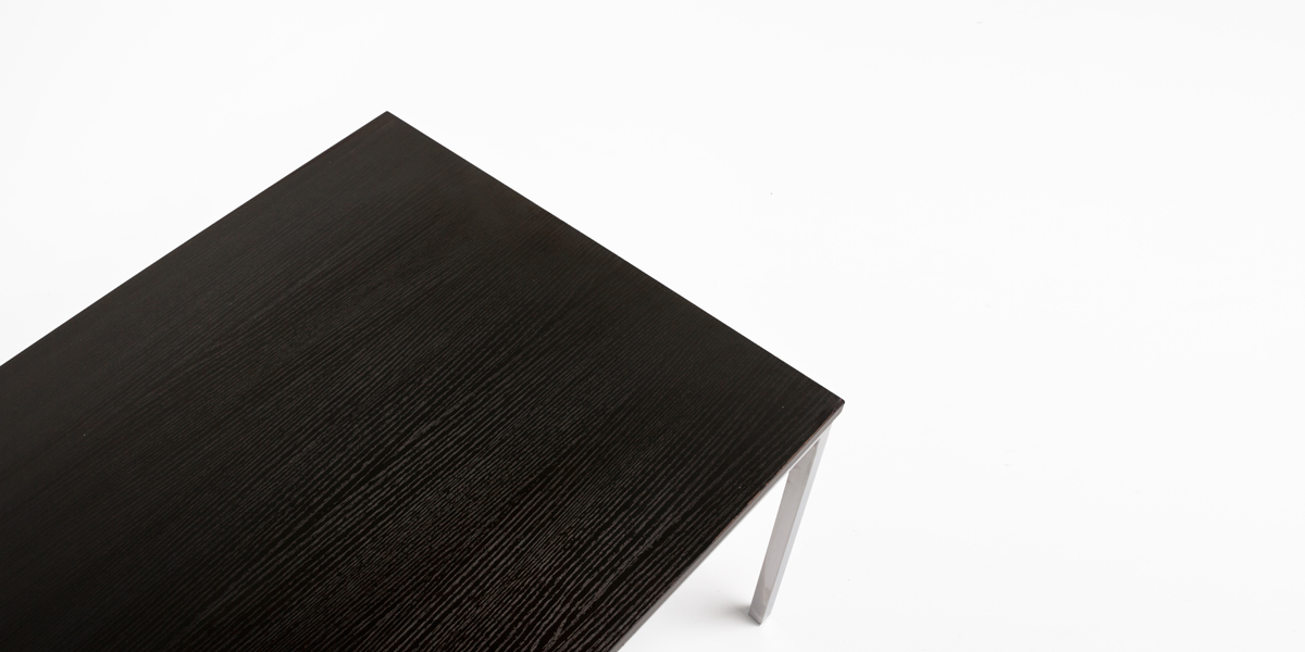"47.75""w x 23.75""d Black Coffee Table TBL013281"
