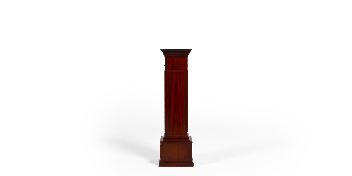 "12""w x 45""h Traditional Mahogany Pedestal TRD002025"