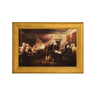 """36""""w x 26.25""""h U.S. Culture Art ART004676"""