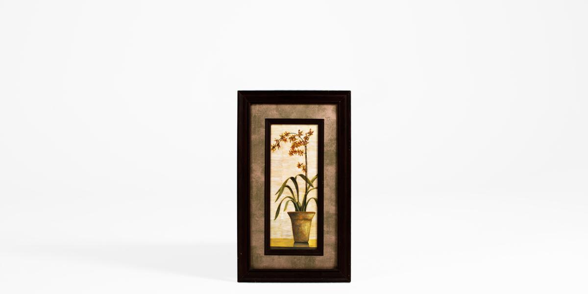 "17.5""w x 29.75""h Floral Art ART008031"