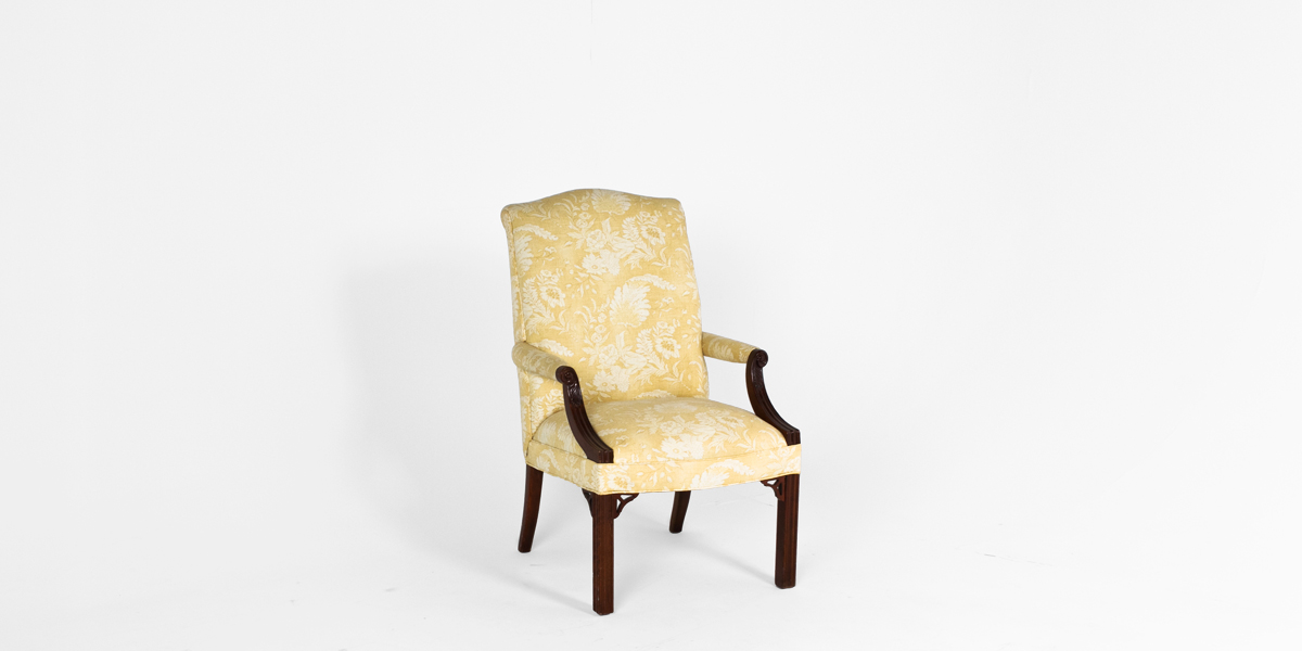 Traditional Mahogany Guest Chair CHR005627