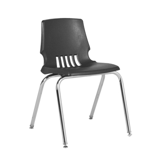 Grey Poly Shell Stack Chair CHR012827