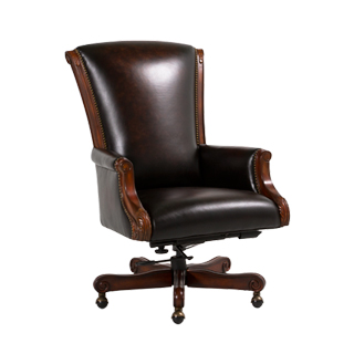 Brown Leather Executive Hi-Back Office Chair CHR013261