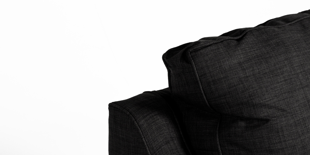 Charcoal Fabric Club Chair CHR013274