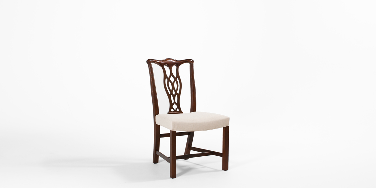 Mahogany Chippendale Side Chair CHR013287