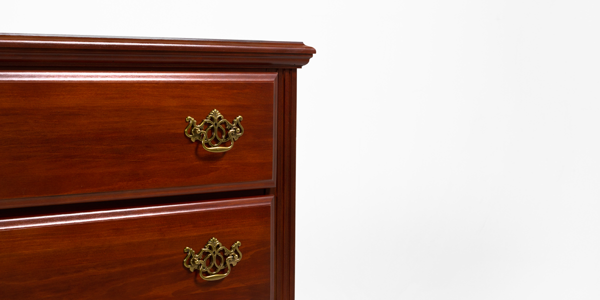 "33.5""w x 17.25""d Mahogany Chest CHT013297"