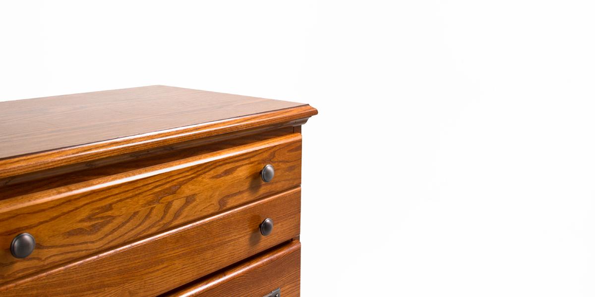 """30""""w x 17.25""""d Medium Oak Chest CHT013309"""