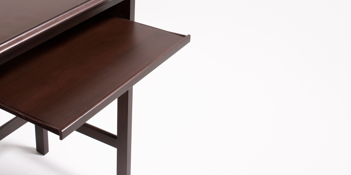 "40""w x 17.25""d Dark Mahogany Student Desk DSK013351"