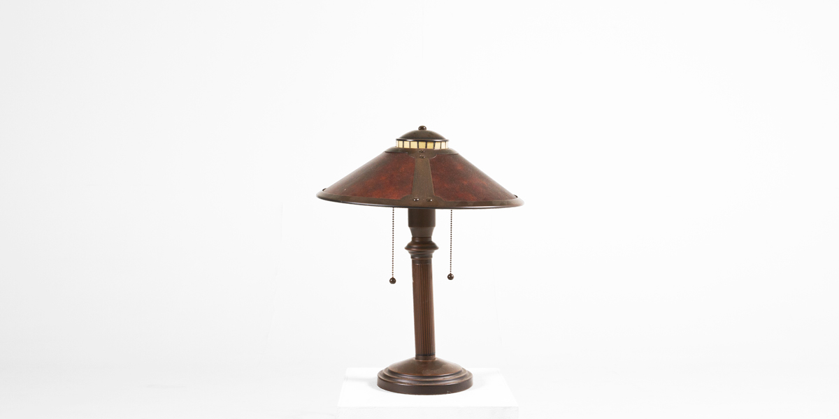 "19""h Bronze Table Lamp LGT007666"